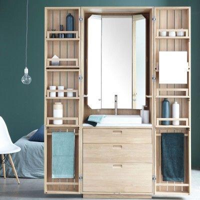 les 303 meilleures images propos de salle de bain sur pinterest toilettes armoires et. Black Bedroom Furniture Sets. Home Design Ideas