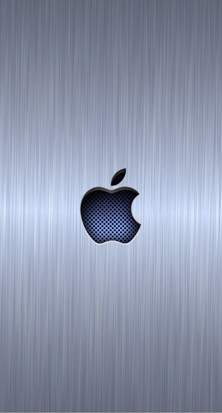 cool apple logo wallpaper for iphone. apple logo cool blue silver | wallpaper.sc iphone6s wallpaper for iphone