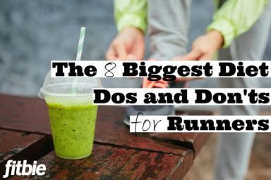 Boston Marathon winner Meb Keflezighi gives his top eating tips for peak #running performance.