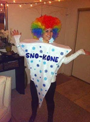 Snow Cone Halloween Cool Halloween Costumes Funny