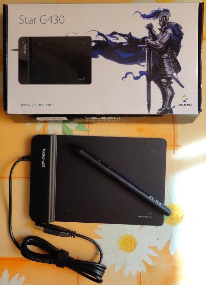 XP-Pen Star G430 Drawing Tablet