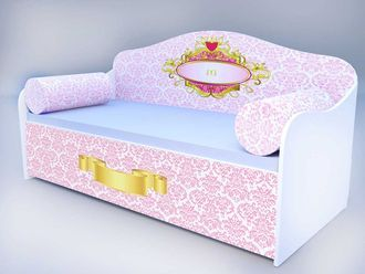 """Кровать диван """"Барокко королевский"""""""