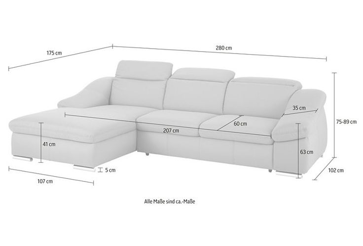 Sit & More Polsterecke, wahlweise mit Bettfunktion