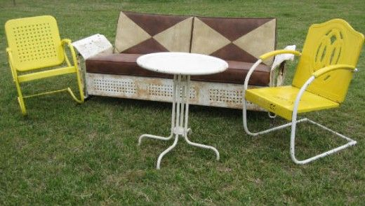 1000 Ideas About Old Metal Chairs On Pinterest Metal