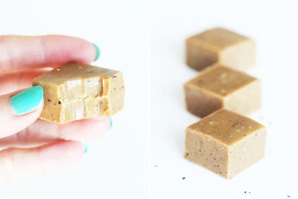 Fudge med lakrids og hvid chokolade