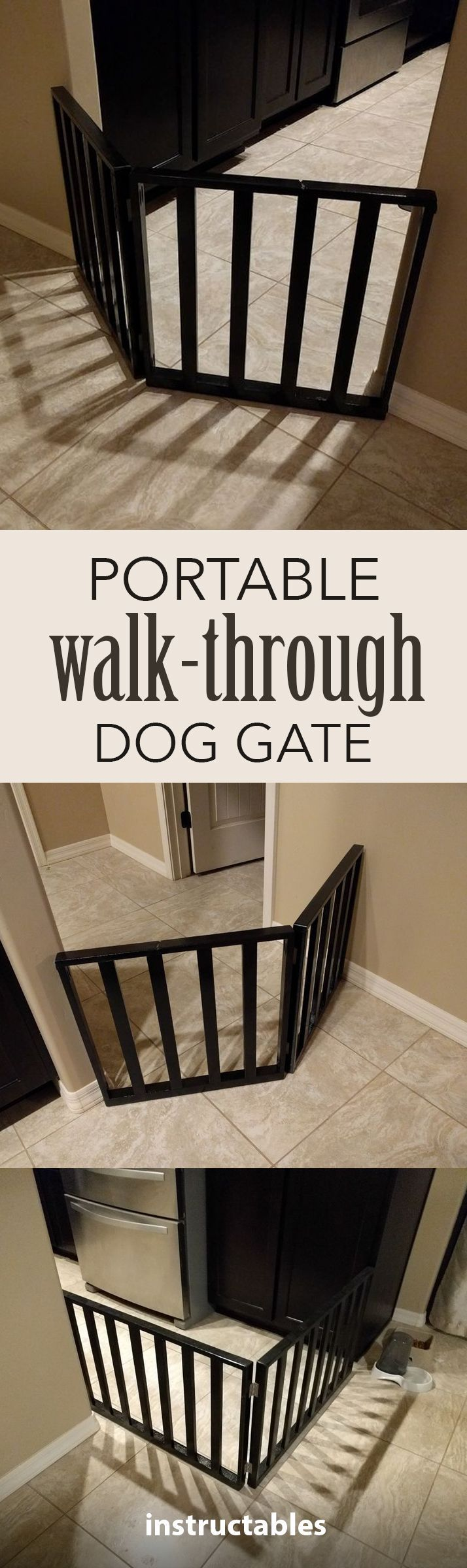 Customize a dog gate specific to your style.