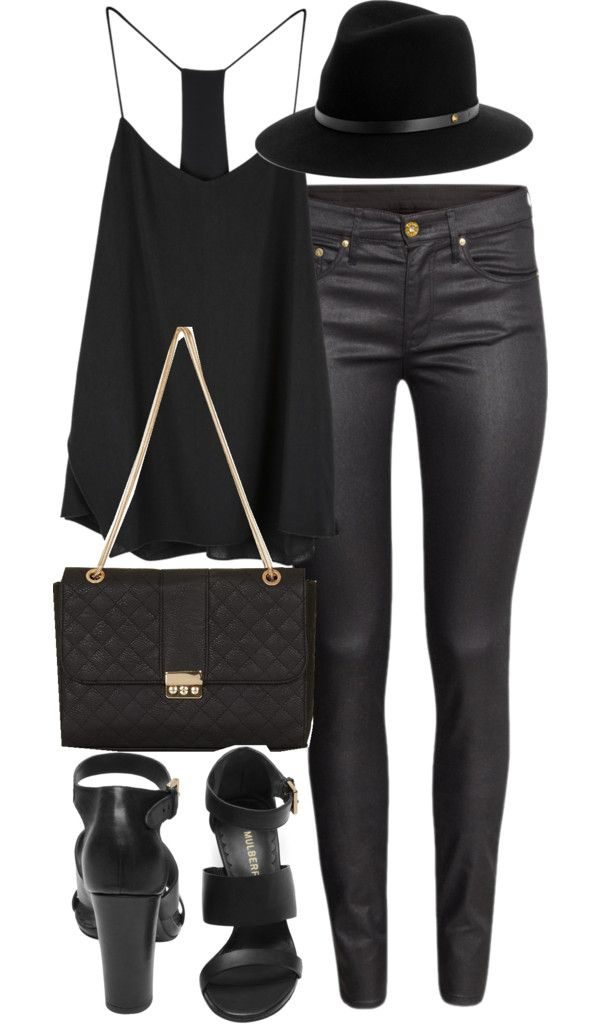 Untitled #1116 by im-emma featuring skinny jeans