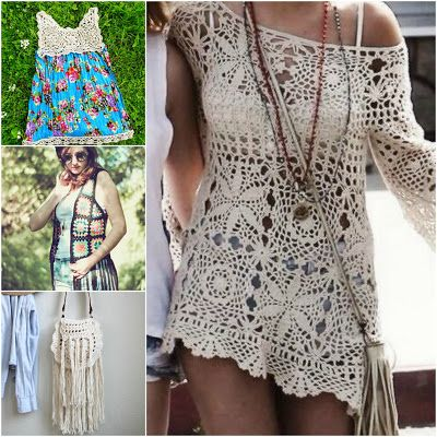 Summer Style Free Crochet Pattern Roundup by The Hippy Hooker