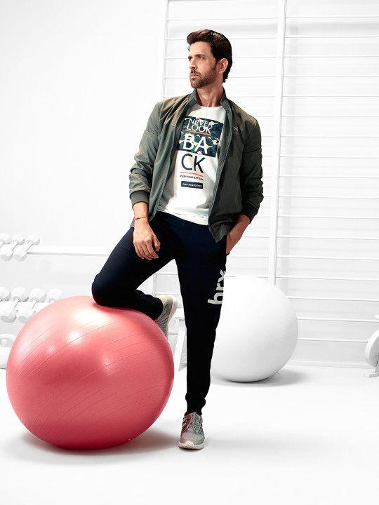 6851c16114b HRX by Hrithik Roshan Black Joggers -   1329   Men's Fashion in 2019 ...
