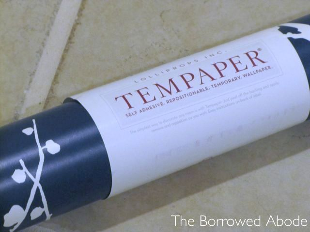 Rental-friendly temporary wallpaper by Tempaper Designs ( #rental #apartment #wallpaper)