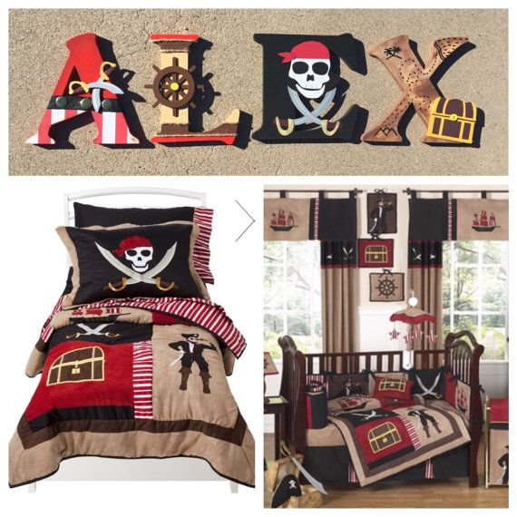 Piraat houten Letters piraat Letters aangepaste brieven