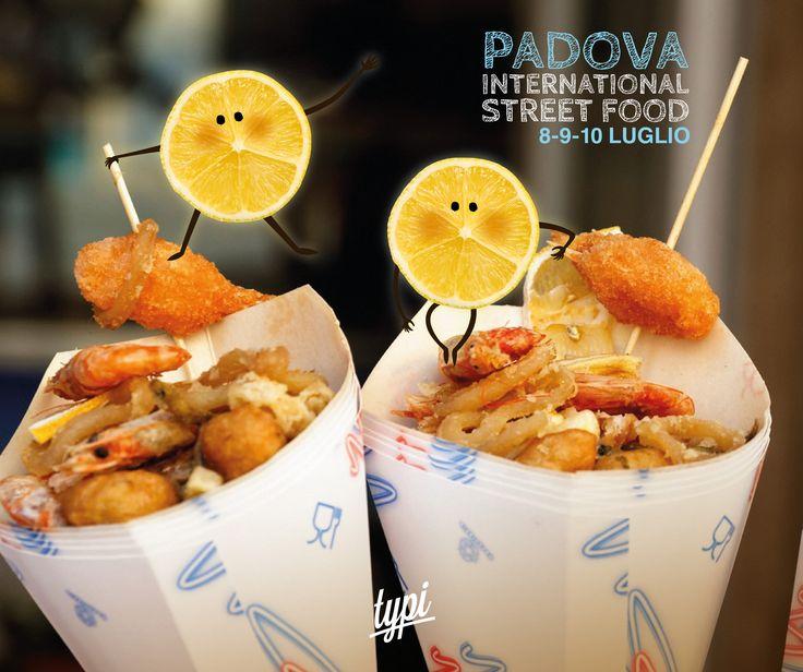 #PadovaInternationalStreetFood  Ci andate?
