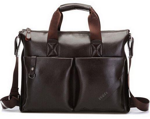 2015 Casual Men's Business Briefcase PU Leather Shoulder Bags Men Crossbody Messenger Bags Designer Brand Laptop Handbag BS1002 #jewelry, #women, #men, #hats, #watches, #belts