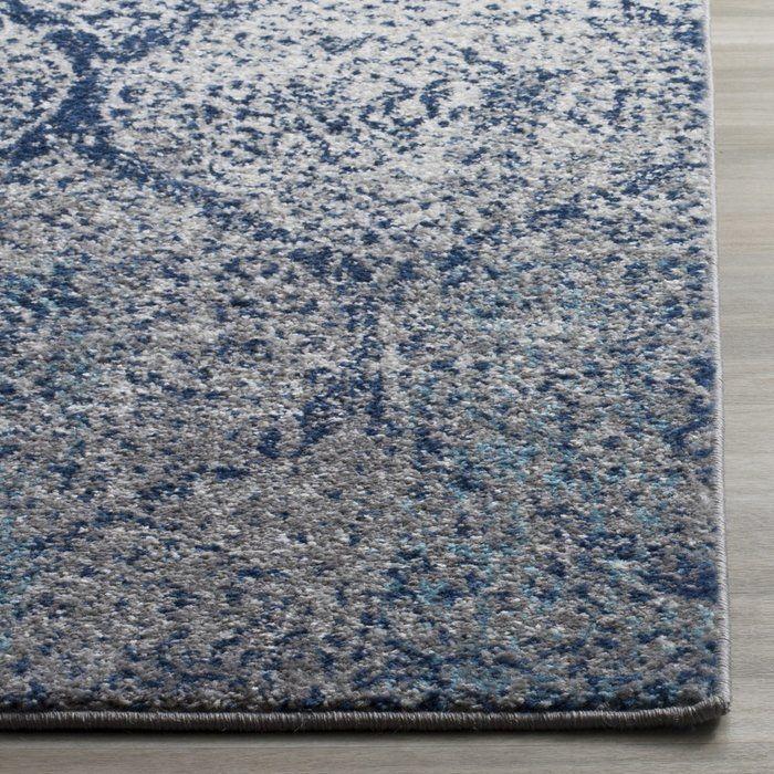 Grieve Blue Gray Area Rug Area Rugs Silver Area Rug Square Area Rugs