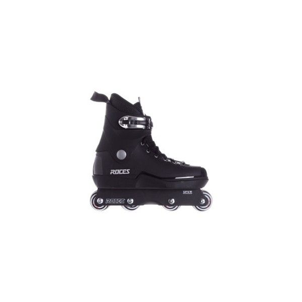Roces M12 UFS Aggressive Inline Skates Black ❤ liked on Polyvore featuring shoes