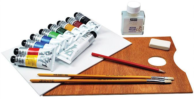 Olejové nebo akrylové barvy?