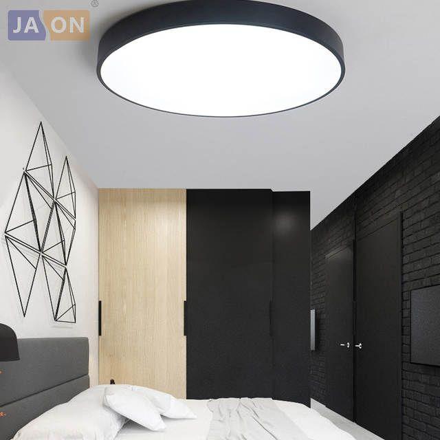 Led Moderne Acryl Legierung Runde 5 Cm Super Dunne Led Lampe Led Licht Decke Lichter Led Decke L Deckenleuchte Schlafzimmer Beleuchtung Decke Deckenleuchten