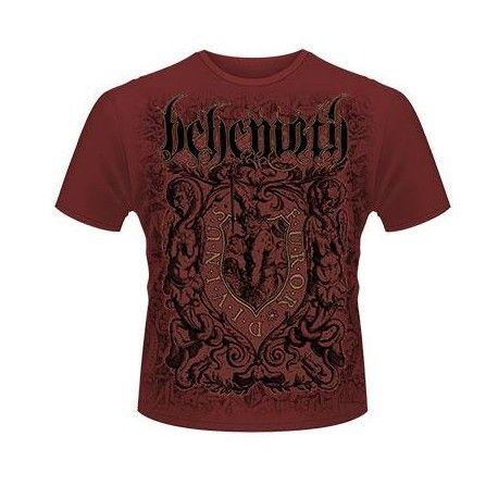 Tricou Behemoth: Furor Divinus Maroon