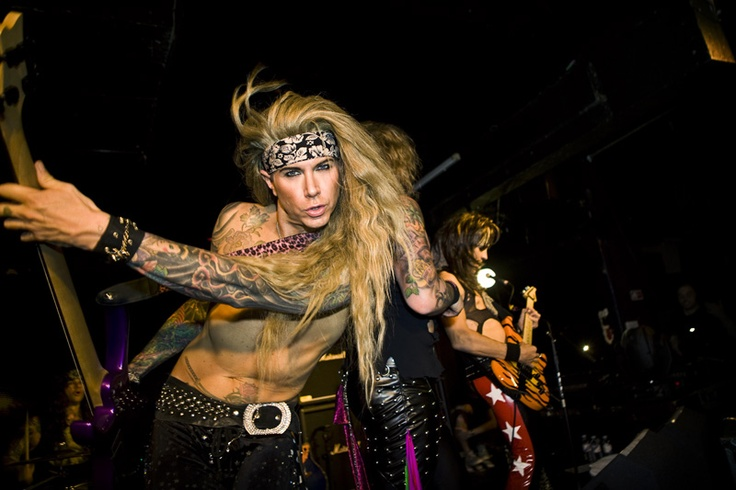 Steel Mother F***in' Panther's Lexxi Foxx!