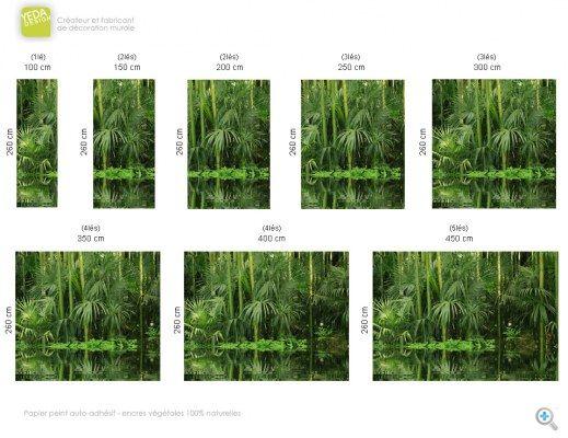 Best 20 papier peint bambou ideas on pinterest jungle wallpaper style col - Papier peint motif bambou ...