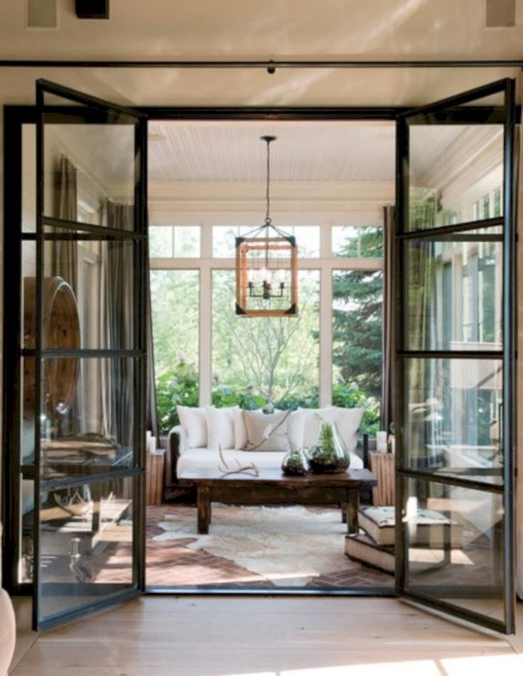 47 Gorgeous Steel French Doors Ideas