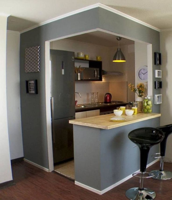 35 outstanding small kitchen studio designs for comfort kitchen design apartment kitchen on i kitchen remodel id=96162