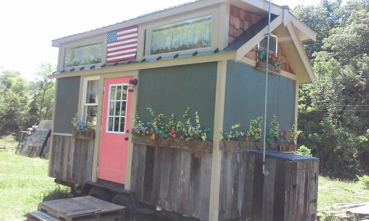 American freedom tiny house small campers and tiny houses pinterest tiny houses square - Theusd tiny house freedom onsquare feet ...