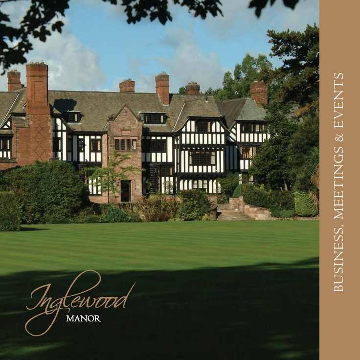 Inglewood Manor Conference Brochure | Ledsham, South Wirral... re-pinned by www.mindsetdevelopment.co.uk