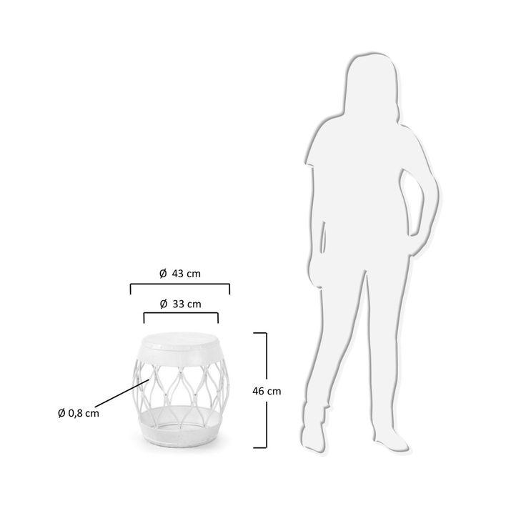 375pln  LaForma :: Stolik ASCOT biały