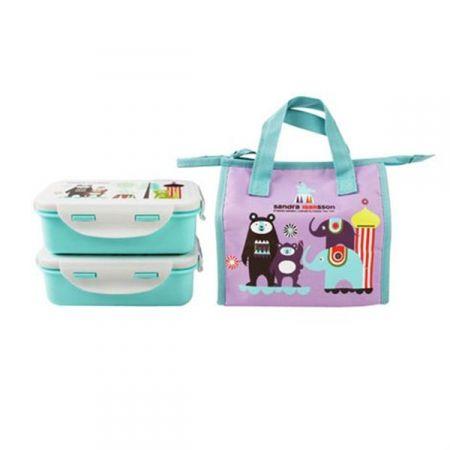 Lunch Box + 2 contenitori