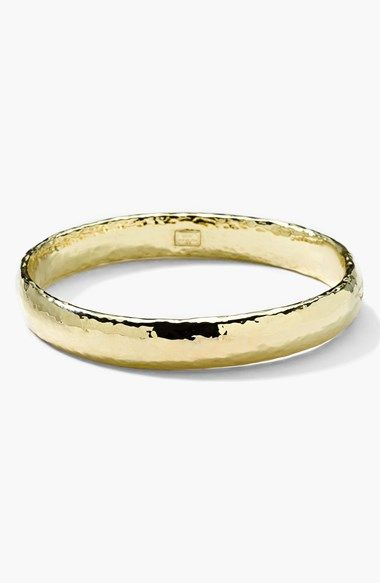 Free shipping and returns on Ippolita 'Glamazon' 18k Gold Bangle at Nordstrom.com. A stackable solid-gold bangle is meticulously hammered and polished to a warm, eye-catching sheen.