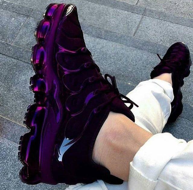 Purple nike shoes, Purple nikes, Nike