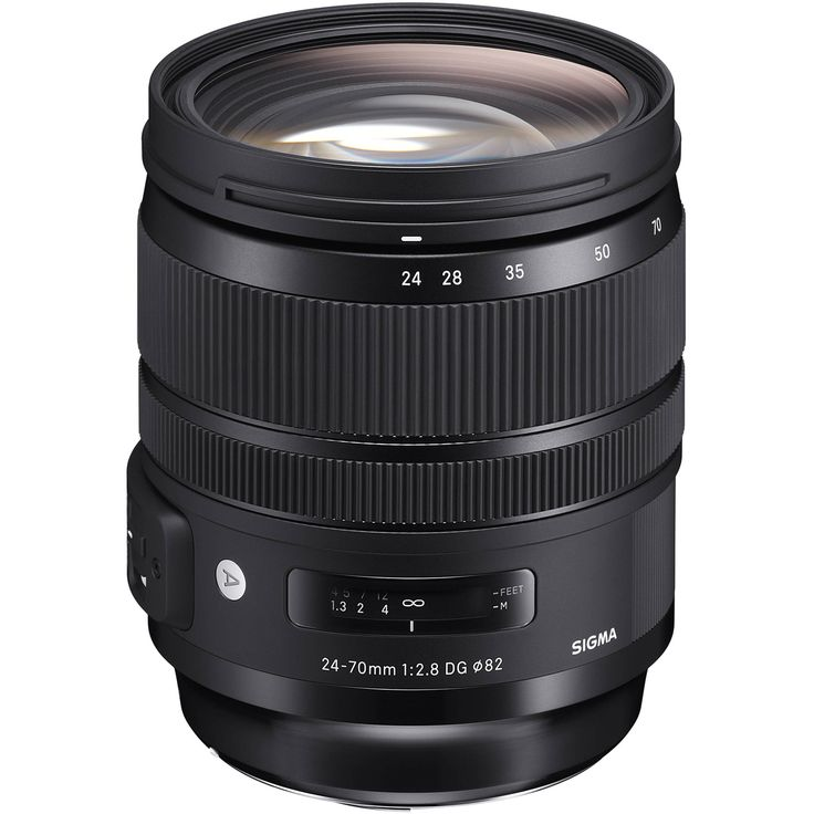 Sigma 24-70mm f/2.8 DG OS HSM Art Lens for Canon EF