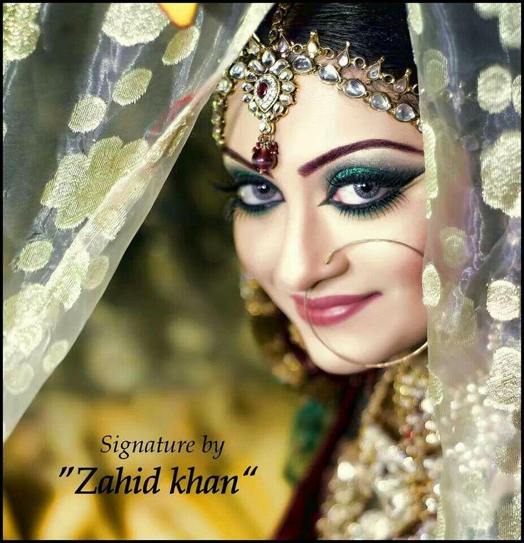 Zahid Khan makeover. Pakistani bride