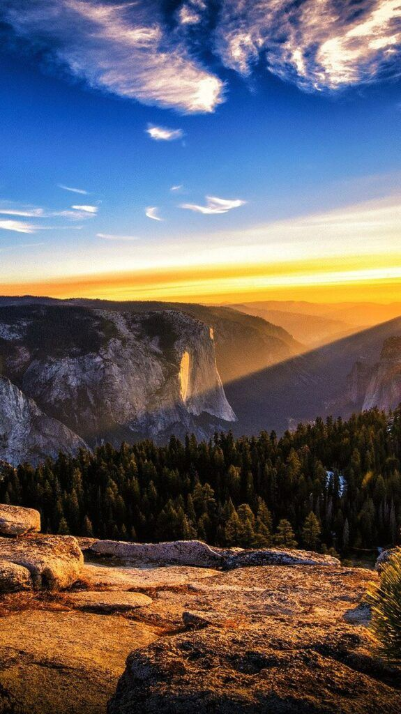 IPHONE WALLPAPERS LANDSCAPE NATURE SUNRISE MOUNTAINS SKY