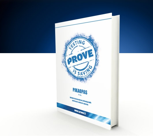 Prove Expertise Oy on Verkkoaseman pitkäaikainen asiakas. Prove on ollut asiakkaistamme edelläkävijänä ennakkoluulottoman piirroskuvamateriaalin käytössä. Lisäksi olemme auttaneet Provea tuotteistamaan testauspalveluita fyysisiksi pakkauksiksi.