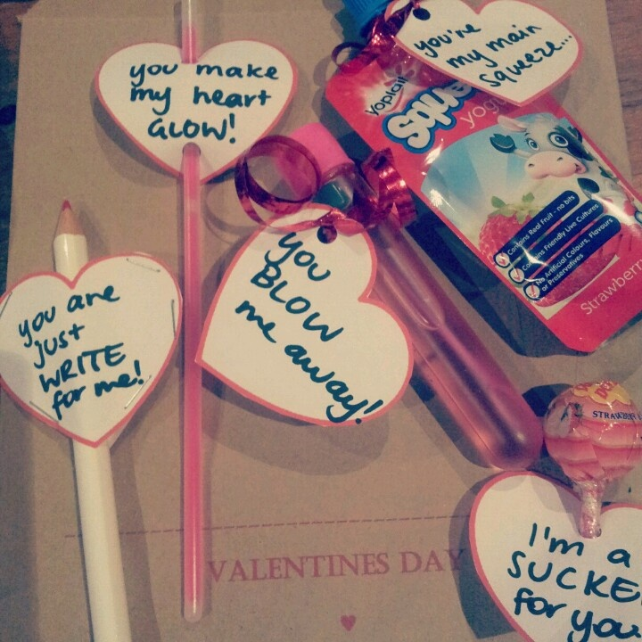 cute valentine gifts so cheap and simple - Cute Cheap Valentines Day Ideas