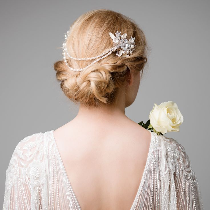 106 Best Hair Accessories Images On Pinterest | Hairstyles Bridal Hair And Bridal Hair Jewellery