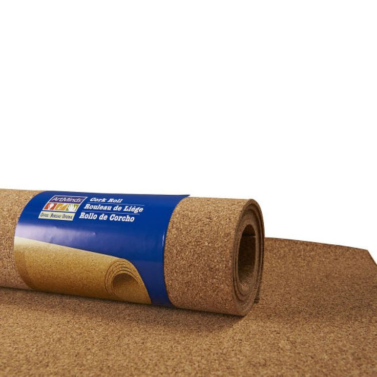 The Board Dudes™ Hobby Cork Roll Cork Wall for art