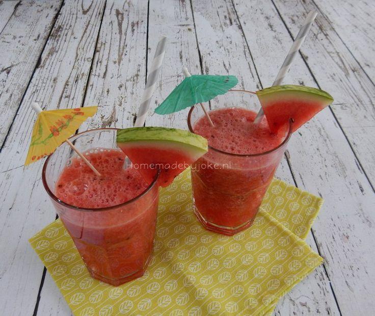 Watermeloen drankje