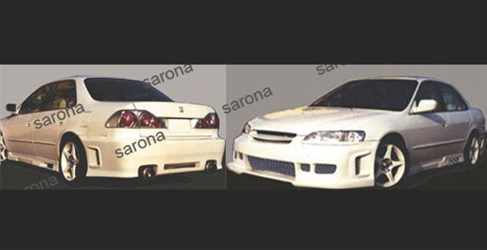 Custom Honda Accord Sedan Front Bumper 2004 2007 450 00 Part Hd 007 Fb In 2020 Custom Body Kits Honda Accord Body Kit