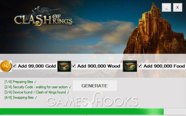 Clash of Kings Hack   Games Hooks