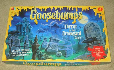 goosebumps terror in the graveyard game instructions