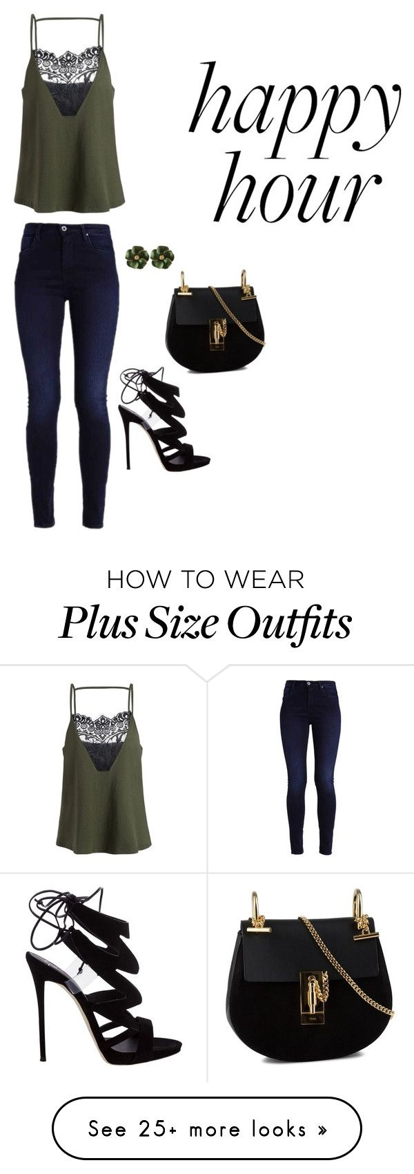 """Happy Hour"" by jaquepkovalski on Polyvore featuring Giuseppe Zanotti and Chloé"