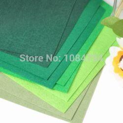 Goedkope , koop rechtstreeks van Chinese leveranciers: voelde blad groene kleuren collectie a4 formaat 100 % polyester vilt materiaal. Ideaal voor alle ambachten en decoraties. 5 groene kleuren in een set. Hebben we meer kleuren vo