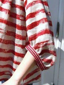 stripes and ric rac....loving! la lampe blog