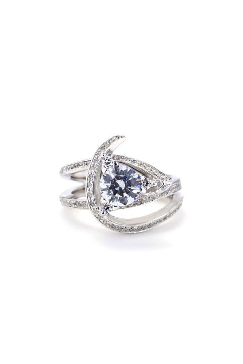Mark Schneider Luxury Engagement Ring. Shop (and get inspired by) it and 70 other alternative engagement rings.
