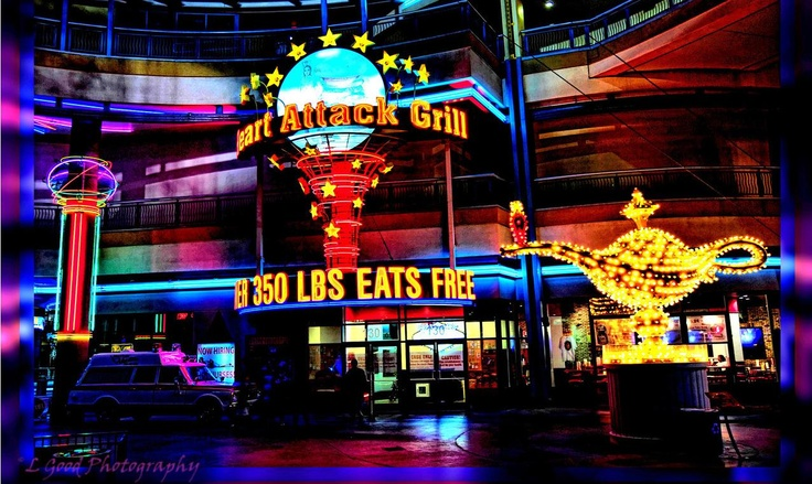 The Heart Attack Grill - Where eating a burger could be your last. - L. Good Photography