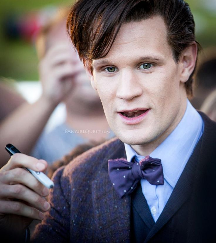Matt Smith, Cardiff, Wales in August 2013.