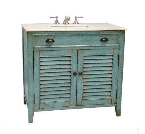 36 cottage look abbeville bathroom sink vanity cabinet. Black Bedroom Furniture Sets. Home Design Ideas